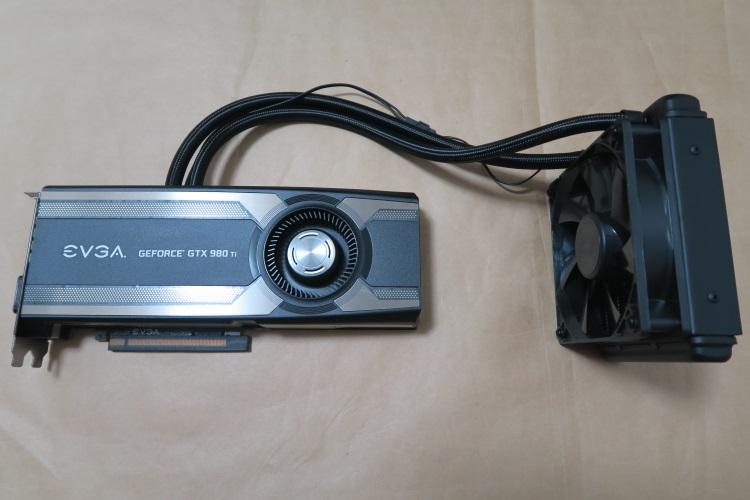 EVGA GeForce GTX 980 Ti HYBRID GAMING本体