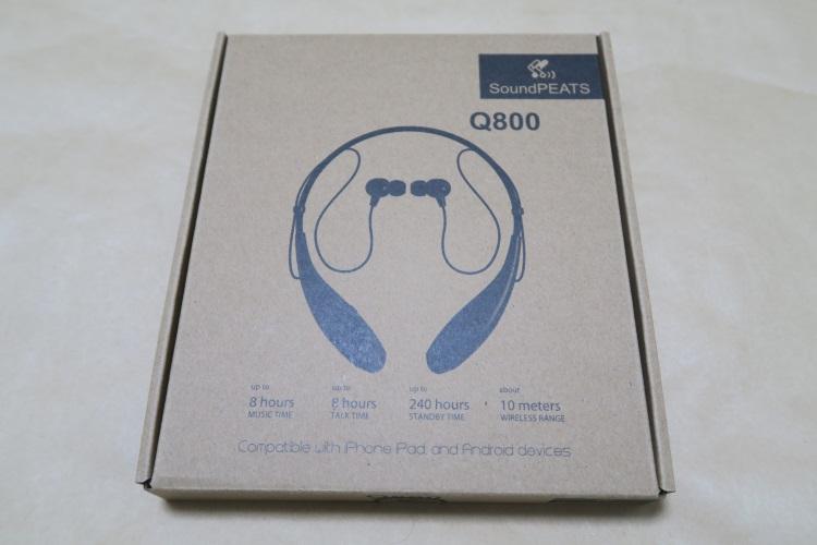 SoundPEATS Q800のパッケージ