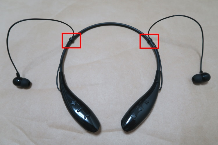 SoundPEATS Q800本体(使用図)