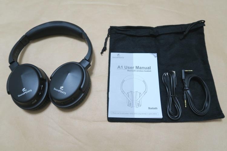 SoundPEATS A1の製品内容