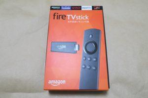 amazon Fire TV Stick 音声認識リモコン付属のパッケージ
