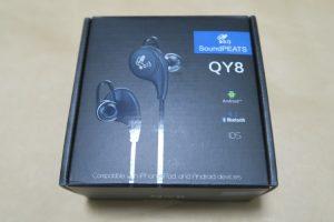 SoundPEATS QY8のパッケージ
