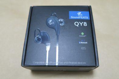 Bluetoothイヤホン SoundPEATS QY8のレビュー