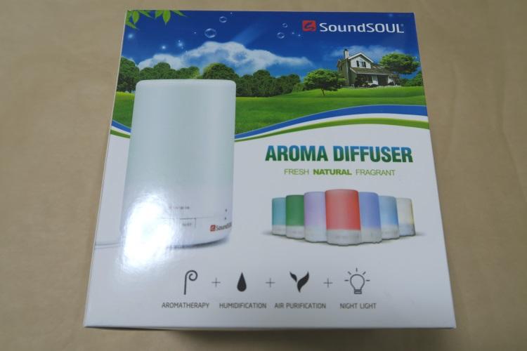 SoundSOUL アロマ ディフューザーのパッケージ