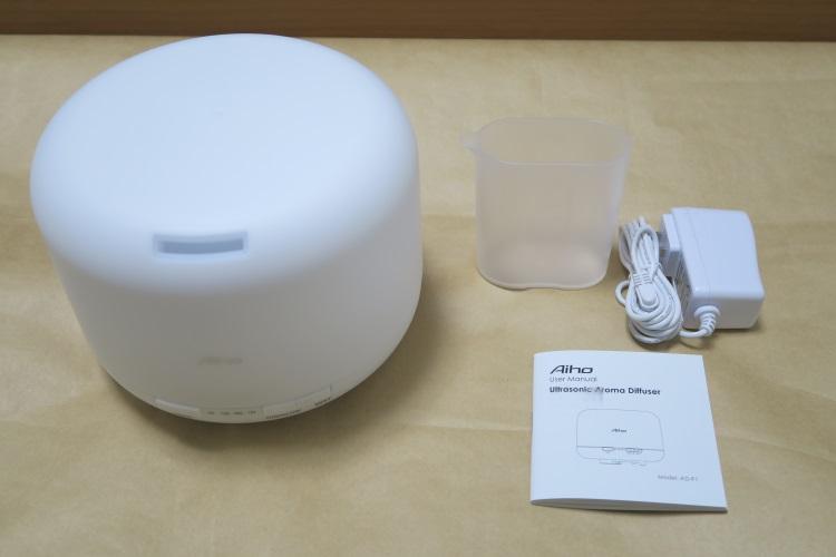 Aiho AD-P1の製品内容