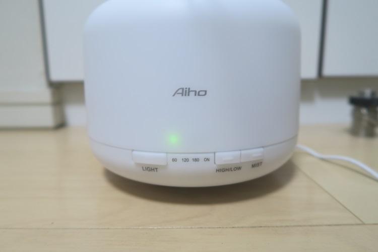 Aiho AD-P1前面のインジケータ