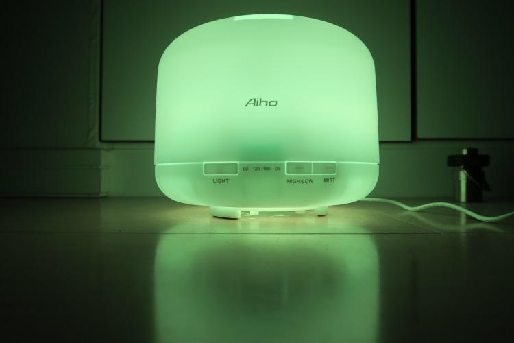 Aiho AD-P1を光らせた様子3