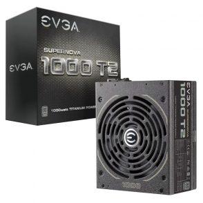 EVGA 80PLUS Titanium電源 T2シリーズ3製品を発売
