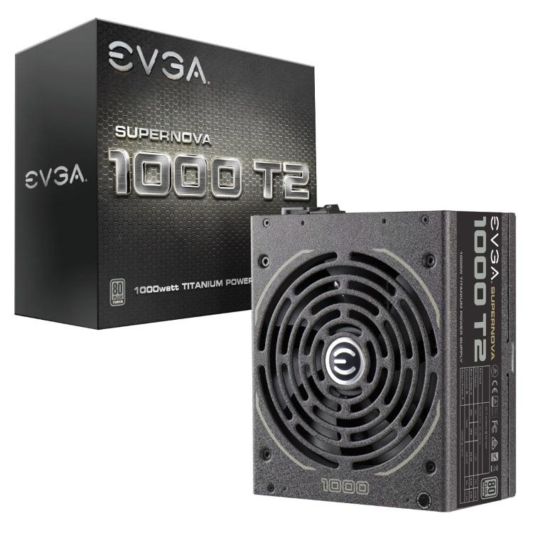 EVGA SuperNOVA 1000 T2本体とパッケージ