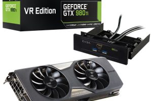 EVGA GeForce GTX 980 Ti VR EDITION GAMING ACX 2.0+ (06G-P4-3996-KR)の本体とアクセサリとパッケージ