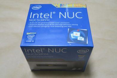 Intel NUCの組み立て方(NUC5i3RYH編)