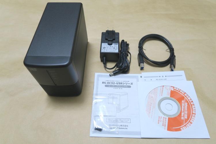 RATOC RS-EC32-U3Rの製品内容