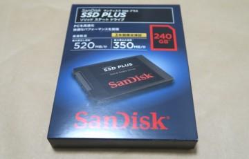 SanDisk SDSSDA-240G-J25Cのパッケージ