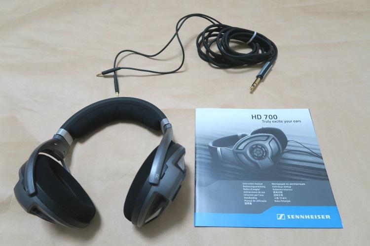 SENNHEISER HD700の製品内容