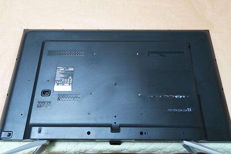 Philips BDM4350UC/11本体背面