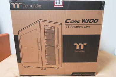 自由度が高い大型PCケース Thermaltake Core W100のレビュー