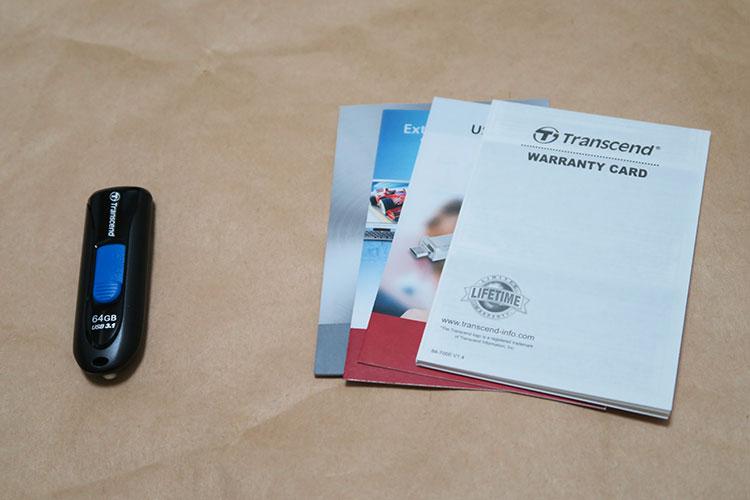Transcend TS64GJF790KPE (FFP)の製品内容