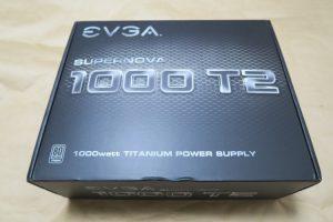 EVGA SuperNOVA 1000 T2のパッケージ