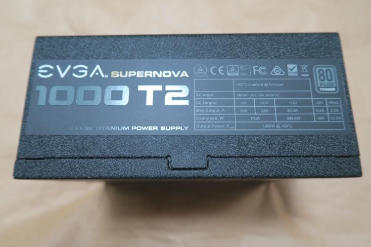 EVGA SuperNOVA 1000 T2の側面