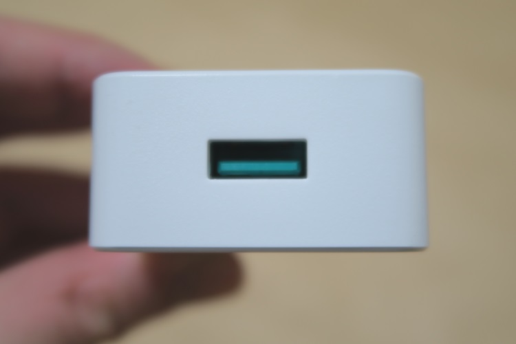 dodocool USB高速充電器(DA56)のUSBポート部分