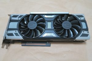 EVGA GeForce GTX 1080 SC GAMING ACX 3.0(本体表側の様子)