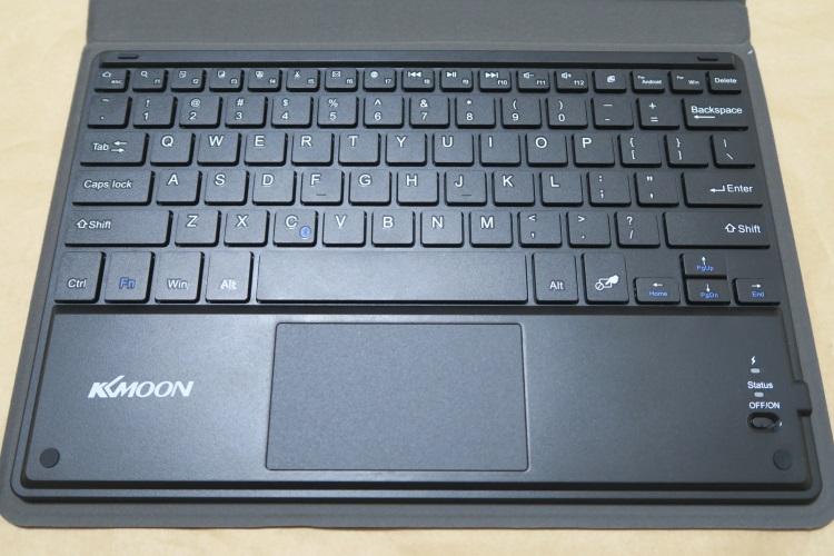 KKmoon 81キー Bluetoothキーボードの配列