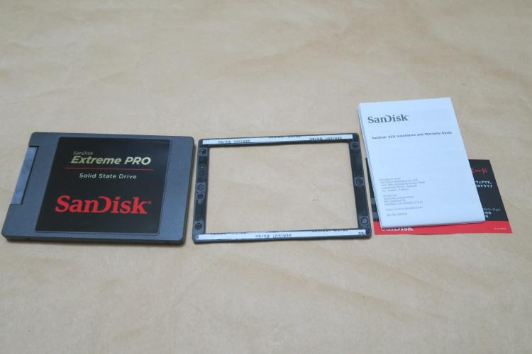 SanDisk SDSSDXPS-960G-J25の製品内容
