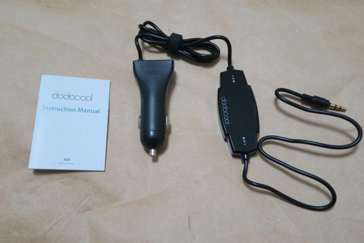 dodocool FMトランスミッター DA82の製品内容