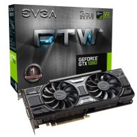 EVGA GeForce GTX 1060 3GB FTW+本体とパッケージ