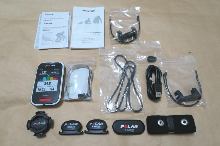 POLAR V650 HR Comboの製品内容