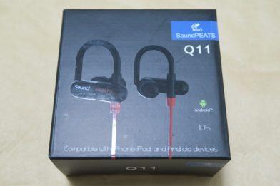 Bluetoothイヤホン SoundPEATS Q11のレビュー