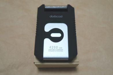 ソーラーバッテリーチャージャー dodocool DA68のレビュー
