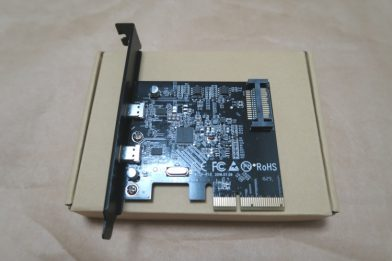 USB3.1&USB Type-C増設カード dodocool DC26のレビュー
