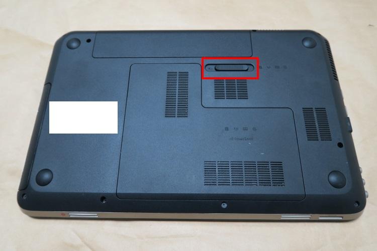HP dv6-6118TXをSSD化する手順(HDDを交換する方法) 02