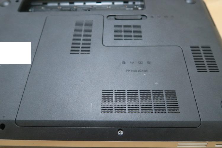 HP dv6-6118TXをSSD化する手順(HDDを交換する方法) 13