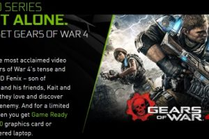 Nvidia GTX Gears of War 4 Bundleのアイキャッチ