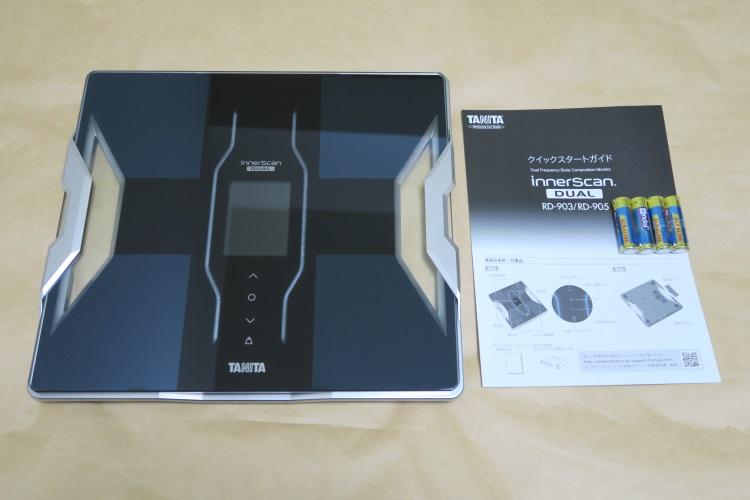 TANITA(タニタ) RD-903-BKの製品内容