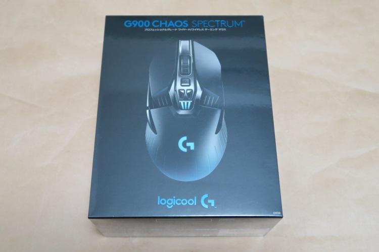 Logicool G900のパッケージ