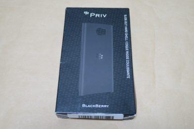 BlackBerry Priv純正ケース Slide-Out Hard Shellのレビュー