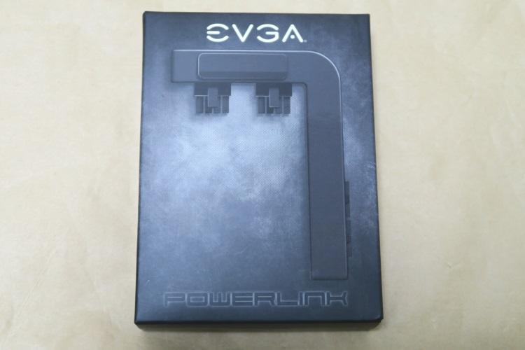 EVGA PowerLinkのパッケージ(表側)