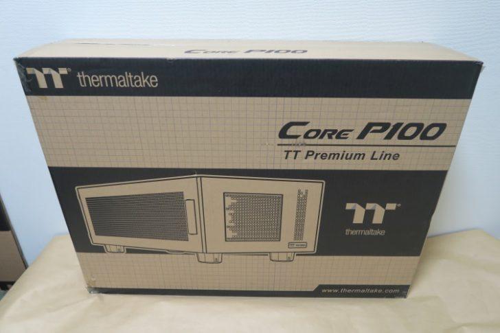 Thermaltake Core P100のパッケージ