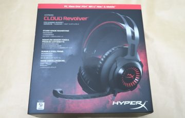 Kingston HyperX Cloud Revolverのパッケージ表側
