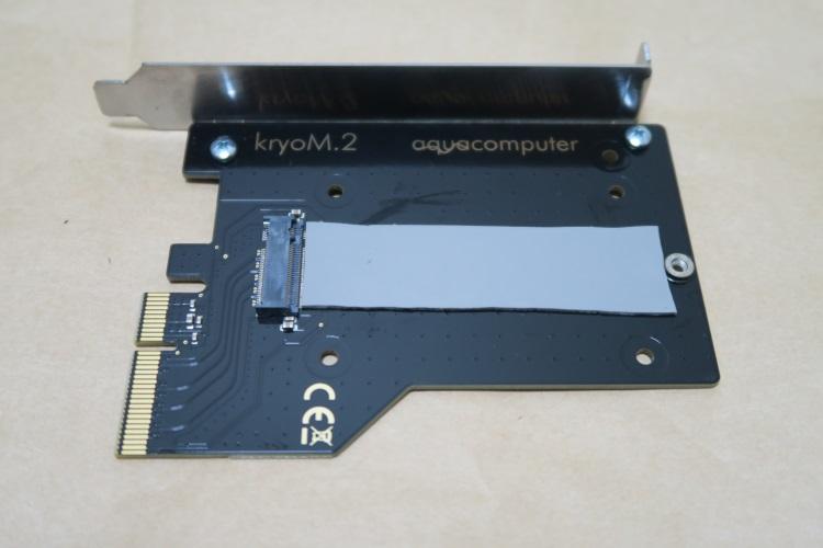 Aquacomputer kryoM.2(空冷版)の取付手順01