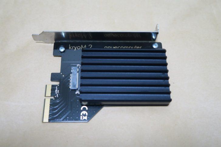 Aquacomputer kryoM.2(空冷版)の取付手順04