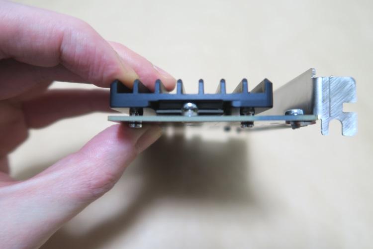Aquacomputer kryoM.2(空冷版)の取付手順06