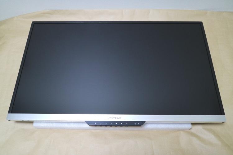 JAPANNEXT JN-IPS320UHD本体前面