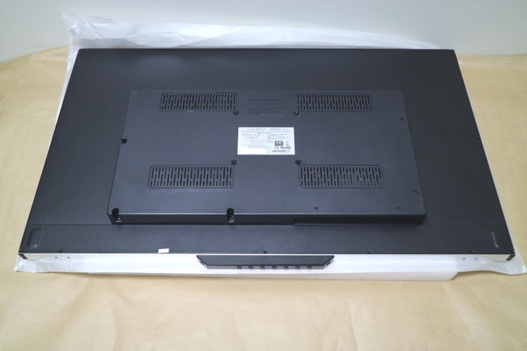 JAPANNEXT JN-IPS320UHD本体背面