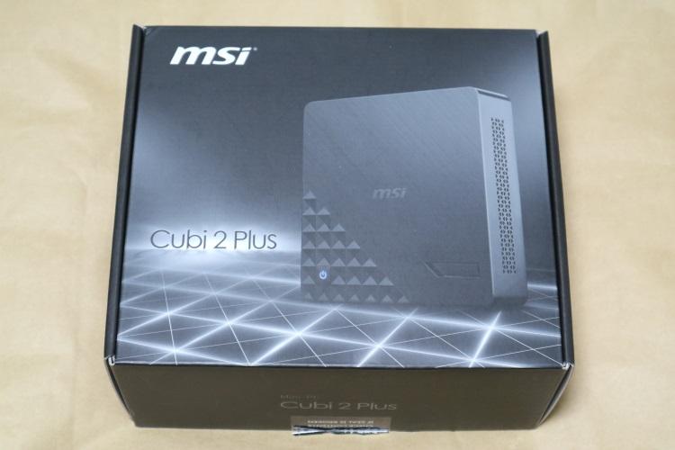 MSI Cubi 2 Plusのパッケージ