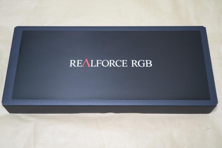 東プレ REALFORCE RGB AEAX01の内箱とユーザーズマニュアル