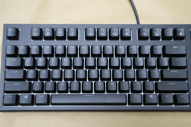 東プレ REALFORCE RGB AEAX01のキー配列(本体左側)